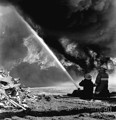 Photograph - Firefighters by Tom Brickhouse
