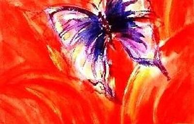 Painting - Fire Flight by Ramona Wright