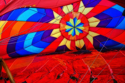 Photograph - Fire Fly Balloon by Mike Martin