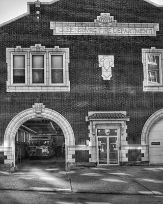 Photograph - Fire House Number Two by Coby Cooper