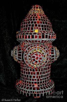 Photograph - Fire Hydrant Art by Susan Herber