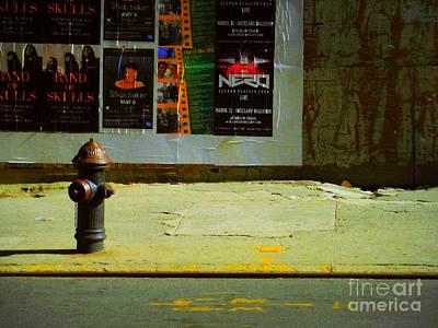 Photograph - Fire Hydrant In Late-day Sun by Miriam Danar