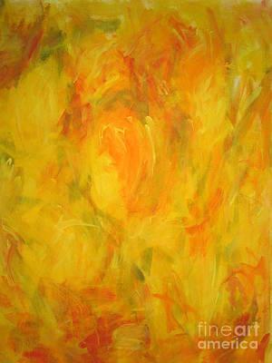 Painting -  The Golden Fall by Fereshteh Stoecklein
