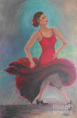 Clapping Painting - Fire In My Soul by Criselda Kelley