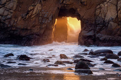 Portal Photograph - Fire In The Hole by Daniel F.