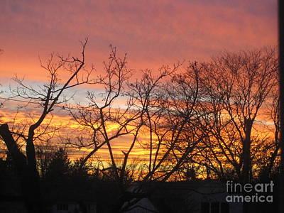 Photograph - Fire In The Sky 2 by Tara  Shalton