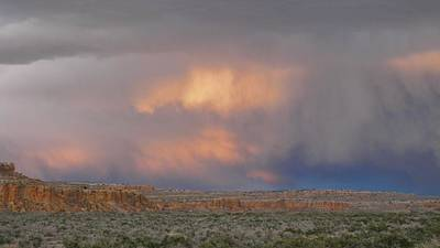 Chaco Culture Nhp Photograph - Fire In The Sky by Feva  Fotos