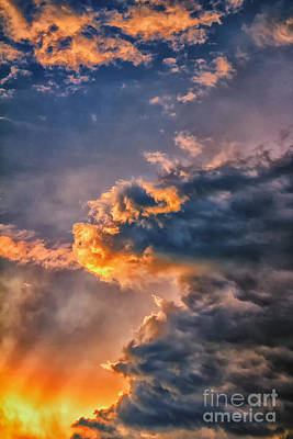 James Taylor Photograph - Fire In The Sky by James Taylor