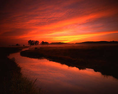Photograph - Fire In The Sky by Ray Mathis