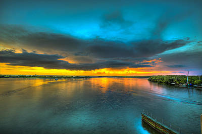 Photograph - Fire In The Sky by Sean Allen