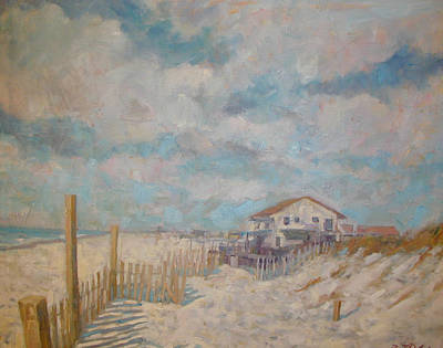 Painting - Fire Island Beach by Bart DeCeglie
