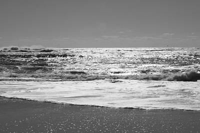 Photograph - Fire Island Black And White by Barbara Bardzik
