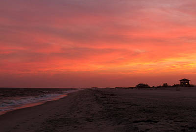 Photograph - Fire Island Sunset by Haren Images- Kriss Haren