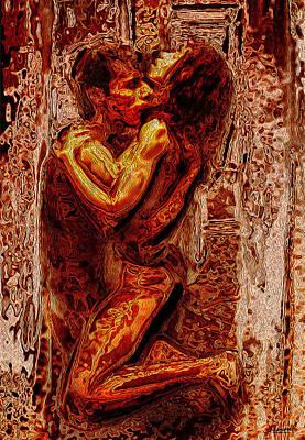 Fire Of Love Art Print
