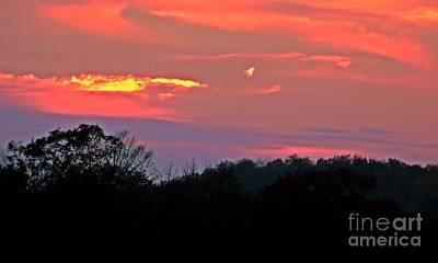 Photograph - Fire Of Twilight by Christian Mattison