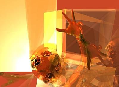 Digital Art - Fire Panic Winfild Kansas by Stephen Donoho