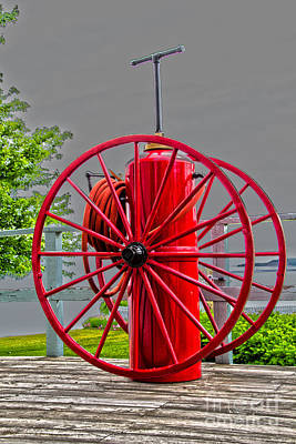 Photograph - Fire Protection by William Norton
