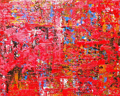 Painting - Fire Red 2 by Dylan Chambers