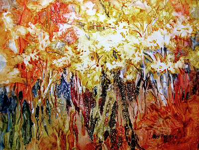 Painting - Fire Season IIi by Kris Parins