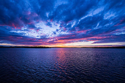 Photograph - Fire Sky by Darren Langlois
