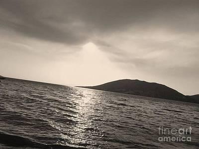 Photograph - Fire  Sky In Black by Katerina Kostaki