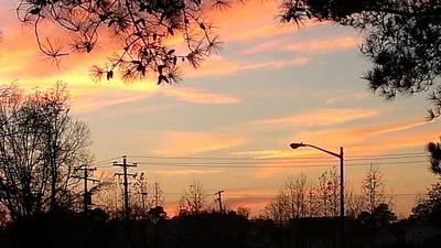 Photograph - Fire Sky by Thomasina Durkay