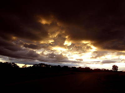 Photograph - Fire Storm by Wild Thing