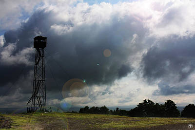 Photograph - Fire Tower On The Airline Road by John Meader