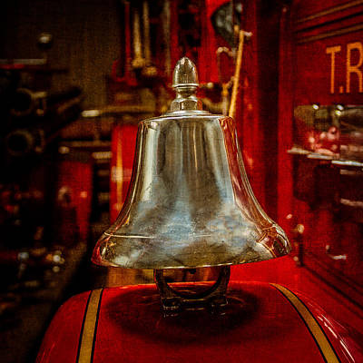 Custom Ring Photograph - Fire Truck Bell by Paul Freidlund