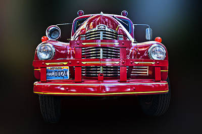Photograph - Fire Truck by Maria Coulson