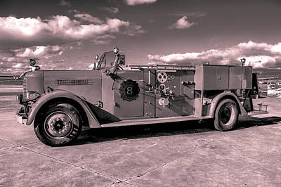 Photograph - Fire Truck Too by Lisa Cortez