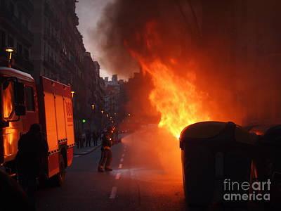Photograph - Fire by Victoria Herrera