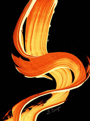 Fall Painting - Fire Water 269 By Sharon Cummings by Sharon Cummings