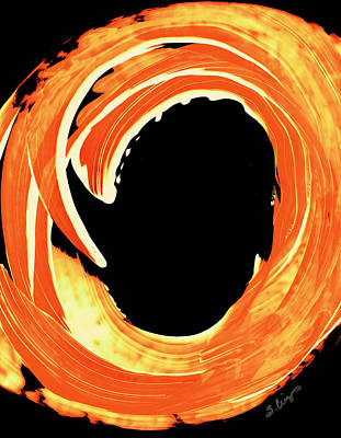 Warmth Painting - Fire Water 312 By Sharon Cummings by Sharon Cummings