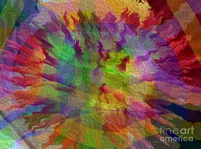 Art Print featuring the photograph Fire Within by Kathie Chicoine