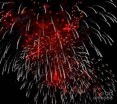 4th Of July 2013 Photograph - Fire Within by Lilliana Mendez