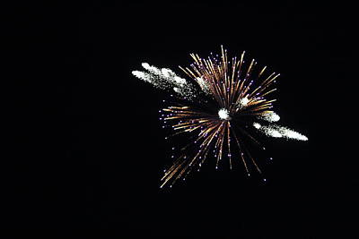 Fire Works Photograph - Fire Works  by Brooklyn Paris
