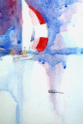 Scot Painting - Firecracker by Robert Yonke