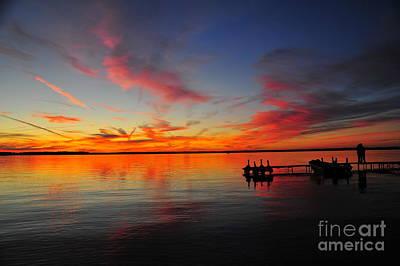 Evening Photograph - Firecracker Sunset 33 by Terri Gostola