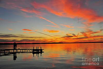 Photograph - Firecracker Sunset by Terri Gostola