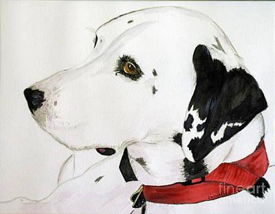 Firedog Art Print