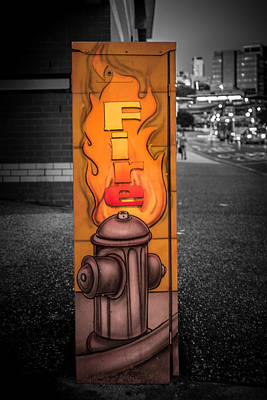 Photograph - Firefighter Art by Silken Photography
