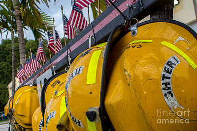 Photograph - Firefighters Memorial To The Brave Rip by Rene Triay Photography
