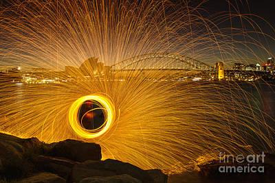 Botany Bay Photograph - Fireflies by Andrew Paranavitana