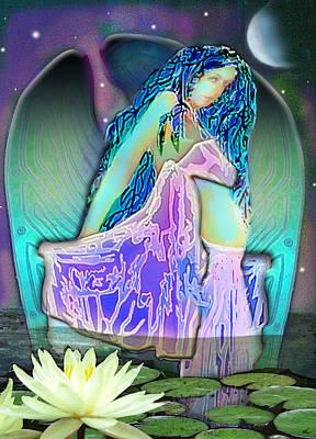 Digital Art - Firefly by Larry Rice