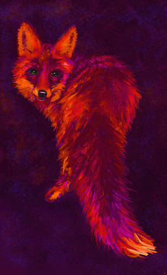 Digital Art - Firefox by Jane Schnetlage