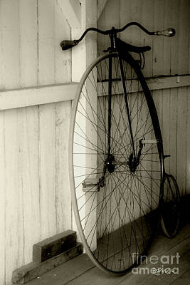 Firehouse Velocipede Art Print by RC deWinter