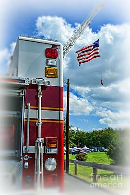Paul Pierce Photograph - Fireman - Proudly They Serve by Paul Ward