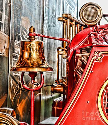 Fireman - The Fire Bell Art Print by Paul Ward