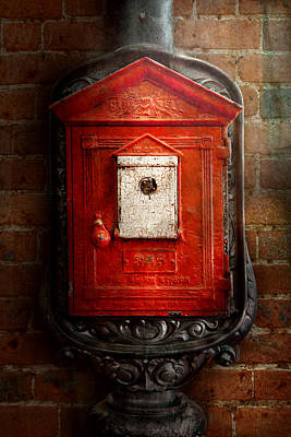 Photograph - Fireman - The Fire Box by Mike Savad